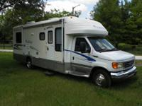 Great looking motorhome with low miles and ready to