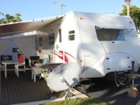 2003 27 foot Jayco travel trailer model Kiwi Two. Full