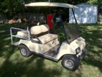 This is 2003 club car with I/R motor. It has heavy duty