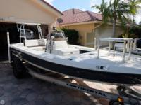 - Stock #79361 - This may be the finest flats boat ever