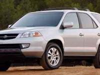 This 2003 Acura MDX 4dr SUV just arrived! Well Equipped