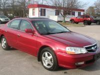 This Acura TL is available for purchase at Knox Auto