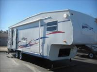 *** 2003 AMERI-CAMP 290RLS 30' BIG SLIDE 5TH WHEEL ***