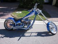 2003 American Ironhorse Texas Chopper. This bike has