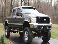 2003 Ford F-350 Lariat Crew Cab Truck Only 60,500