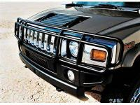2003 and up HUMMER H2 OEM GRILLE BUMPER GUARD BAR WITH