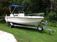 2003 18 ft Angler Center Console. Great Condition. Turn