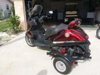 Italian made 2003 Aprilla Scooter500 Cc with removal
