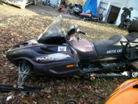 2003 Arctic Cat Pantera 600 EFI luxury Touring sled