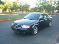 2003 Audi A6 Black on black with 143k miles alloy