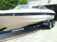 Bayliner 205 Specifications: - Length 20'1 - Beam 8 -