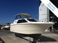 This 2003 Bayliner 2452 EC is very clean and well kept.