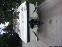 Beautiful open bow play boat. Has been kept inside