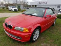 Clean CARFAX. 330Ci, 2D Convertible, 5-Speed Automatic