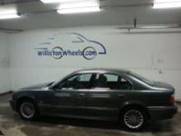 Options Included: N/AThis CaFax certified BMW 540i