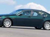 Lavishly luxurious, this 2003 BMW 7 Series turns even