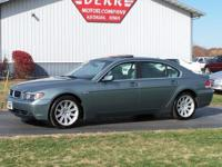 Options Included: N/AWOW!! A LOW MILE 745LI!! New MSRP