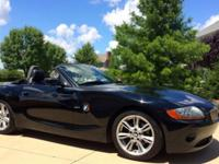 You are looking at a 2003 BMW Z4 3.0 L. The black