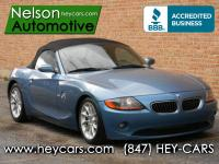 This Clean Carfax Z4 is packed up and has a manual