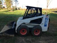 Bobcat 753C Skid Steer. Bobcat 753C Skid Steer model in