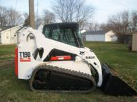 2003 Bobcat T190 Skidsteer with tracks. When I decided