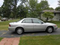 This silver Buick has only 18,160 miles and is supeer