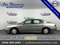 New Price! Clean CARFAX. 2003 Buick LeSabre Custom
