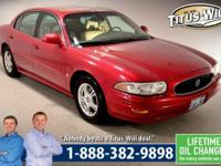 Completely inspected and reconditioned, 2003 Buick