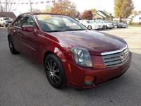 Options:  2003 Cadillac Cts 4D Sedan Auto|Red|Abs