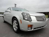 LOCAL NC TRADE!! This 2003 Cadillac CTS 4dr 4dr Sdn