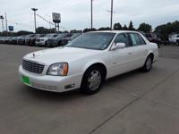 Diamond White 2003 Cadillac DeVille FWD 4-Speed
