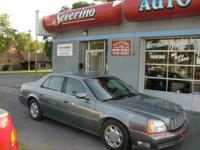 Options Included: N/A2003 DEVILLE, AUTO, LEATHER,
