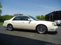 ABSOLUTELY GORGEOUS 03 CADILLAC SEDAN WITH JUST 58,000