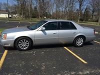 The 2003 Cadillac DeVille is supplied in base, DHS and