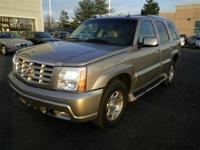 Description 2003 CADILLAC Escalade 10-way power
