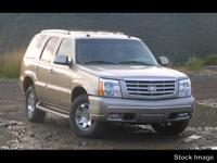 Options:  2003 Cadillac Escalade 4Dr Awd|4-Speed