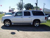 Options Included: 2003 Cadillac Escalade Esv, White,