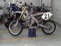 2003 Cannondale X440 Motorcycle. This bike has Ohlins
