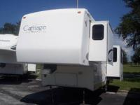 2003 Carriage Cameo 34ft Fifth Wheel . Three slides