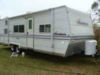 Description 27 FOOT COACHMEN CASCADE TRAVEL TRAILER,