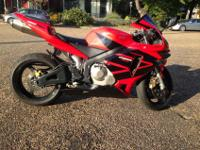 I'm selling my 2003 CBR600RR. It has 15,300 miles on