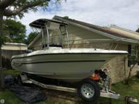 The 2003 Century 2000 is a well kept boat. The Owner