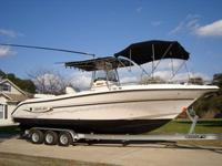 2003 CENTURY 2900 CC OFFSHORE FISHING BOAT TWIN YAMAHA