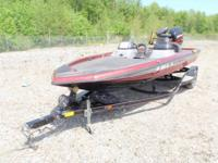 2003 Champ Elite 188 DCX Elite Bass Boat.  200 HP