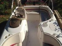2003 Chaparral 210 Sunesta is prepared for the lake,