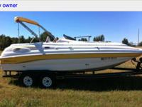 2003 Chaparral sunsets210 V8 5.0L I/O low hours Bimini