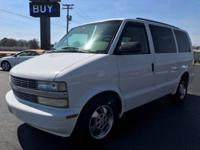 2003 Chevy Astro Van, Power Windows, Locks and Mirrors,