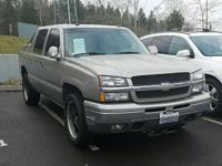 AVALANCHE 1500 4D SUV 4WD  Options:  Abs Brakes