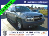 Options:  2003 Chevrolet Avalanche 1500 Base|Gray|2003
