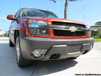 A beautiful 2003 Chevrolet Avalanche Z66 1500 sport